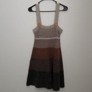 Wool and Angora Knit Dress